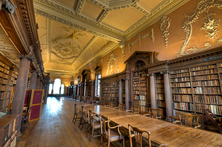 Oxford University Christ College Library